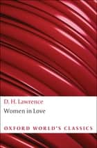 Women in Love ebook by D. H. Lawrence, David Bradshaw