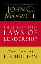 The Law of Addition ebook by John C. Maxwell