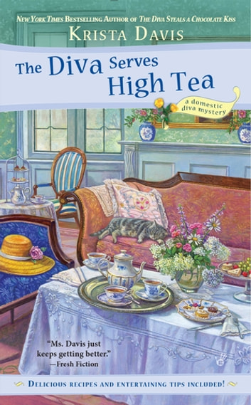 The Diva Serves High Tea ebook by Krista Davis