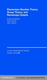 Elementary Number Theory, Group Theory and Ramanujan Graphs ebook by Davidoff, Giuliana