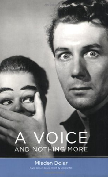 A Voice and Nothing More ebook by Mladen Dolar