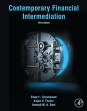 Contemporary Financial Intermediation ebook by Stuart I. Greenbaum,Anjan V. Thakor,Arnoud Boot