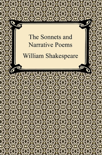 The Sonnets and Narrative Poems 電子書 by William Shakespeare