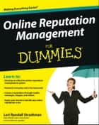 Online Reputation Management For Dummies ebook by Lori Randall Stradtman