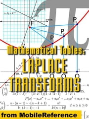 Mathematical Tables: Laplace Transforms (Mobi Study Guides) ebook by MobileReference