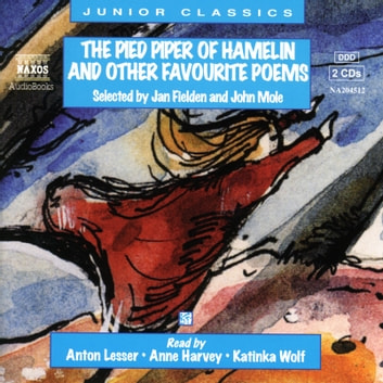 The Pied Piper, and other favourite poems audiobook by