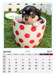 Calendario amici a 4 zampe 2017 ebook by Nickust G. F.