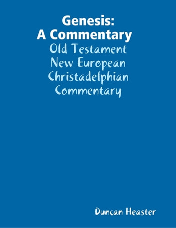 Genesis: A Commentary Old Testament New European