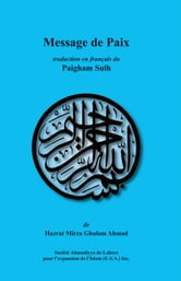 Message de Paix ebook by Hazrat Mirza Ghulam Ahmad