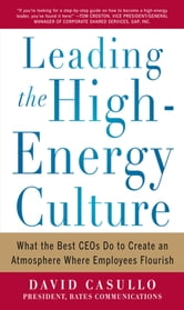 Leading the High Energy Culture: What the Best CEOs Do to Create an Atmosphere Where Employees Flourish ebook by David Casullo