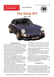 Porsche Early 911 Buyers' Guide ebook by Mellor, Chris