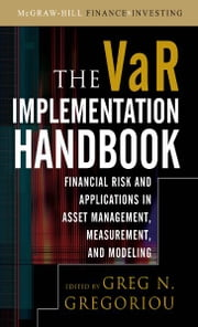 The VAR Implementation Handbook ebook by Greg N. Gregoriou