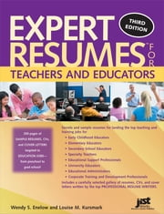 Expert Resumes for Teachers and Educators ebook by Wendy Enelow,Louise Kursmark