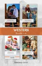 Western Box Set Jan 2021/Her Texas New Year's Wish/What Happens at the Ranch.../A Christmas Proposal/Christmas on the Ranch ebook by