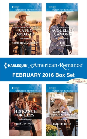 Harlequin American Romance February 2016 Box Set - An Anthology 電子書 by Cathy McDavid,Roz Denny Fox,Jacqueline Diamond,Patricia Johns