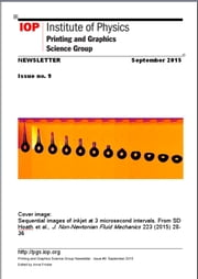 Issue #9 Printing and Graphics Science Group Newsletter ebook by Anna Fricker