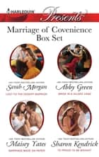 Marriage Of Convenience Bundle - 4 Book Box Set ebook by Sarah Morgan, Maisey Yates, Sharon Kendrick,...