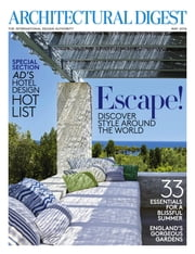 Architectural Digest - Issue# 5 - Conde Nast magazine