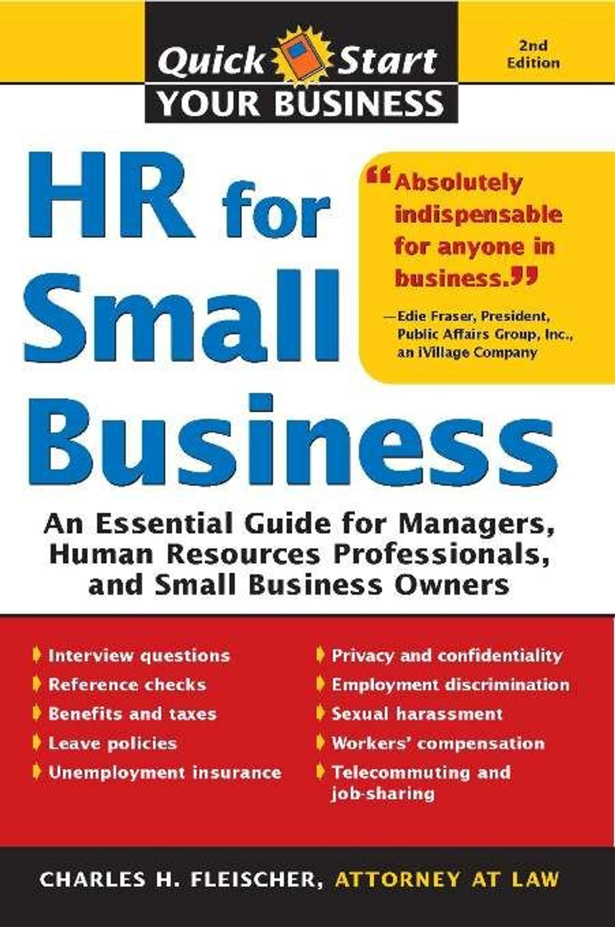 HR for Small Business eBook by Charles Fleischer - 9781402250637 | Rakuten  Kobo