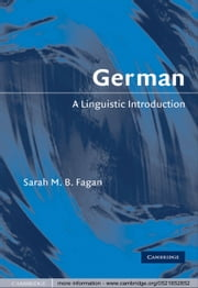 German - A Linguistic Introduction ebook by Sarah M. B. Fagan