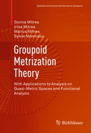 Groupoid Metrization Theory - With Applications to Analysis on Quasi-Metric Spaces and Functional Analysis ebook by Dorina Mitrea,Irina Mitrea,Marius Mitrea,Sylvie Monniaux