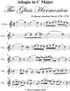 Adagio In C Major Glass Harmonica Easy Violin Sheet Music ebook by Wolfgang Amadeus Mozart