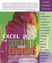 Excel 2007 for Scientists and Engineers ebook by Troy, Anne