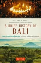 Brief History Of Bali - Piracy, Slavery, Opium and Guns: The Story of a Pacific Paradise ebook by Willard A. Hanna, Tim Hannigan