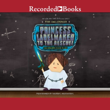 Princess Labelmaker to the Rescue audiobook by Tom Angleberger