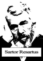 Sartor Resartus ebook by Thomas Carlyle