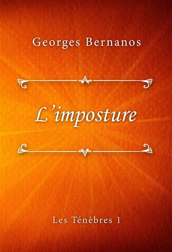 L'imposture eBook by Georges Bernanos