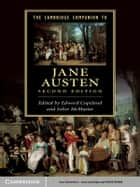 The Cambridge Companion to Jane Austen ebook by Edward Copeland, Juliet McMaster