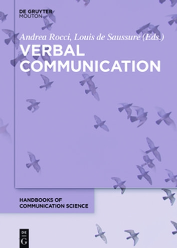 Verbal Communication ebook by