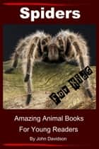 Spiders for Kids: Amazing Animal Books for Young Readers ebook by John Davidson