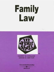 Family Law in a Nutshell, 5th ebook by Harry Krause,David Meyer