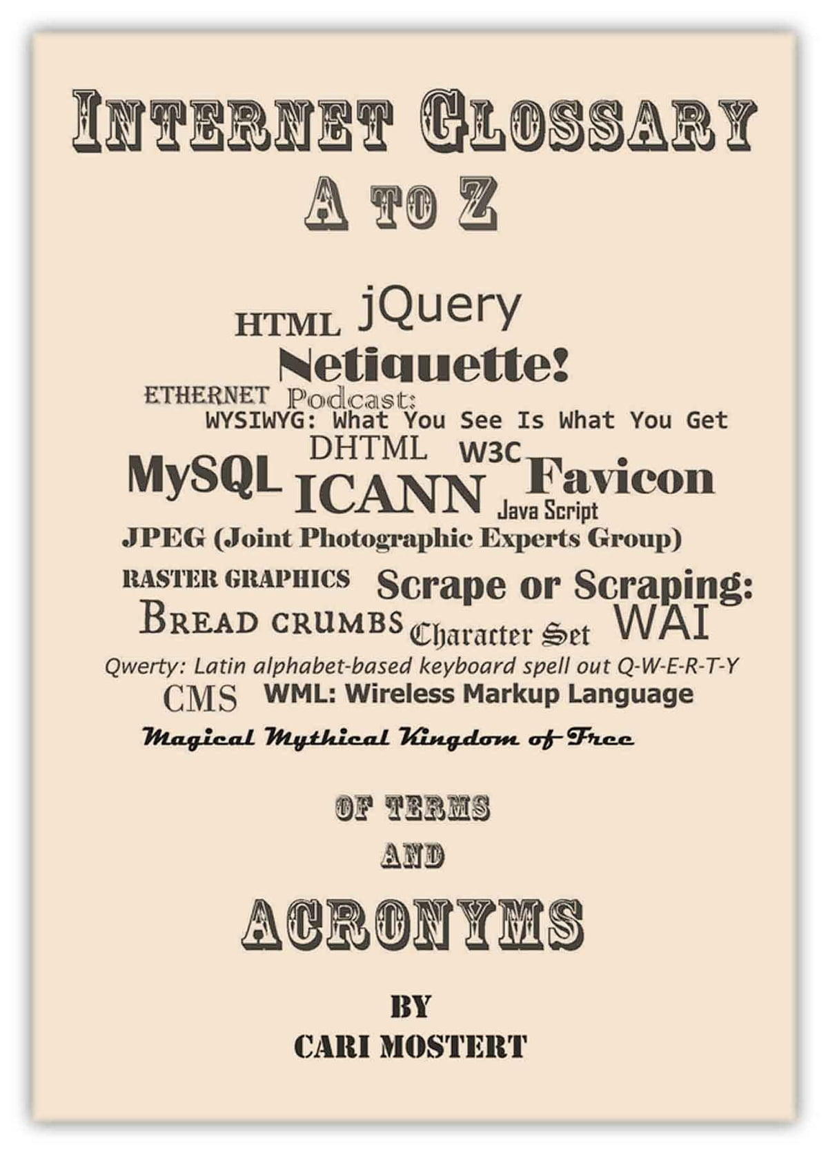 Internet Glossary A to Z of Terms and Acronyms ebook by Cari Mostert -  Rakuten Kobo