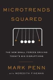 Microtrends Squared - The New Small Forces Driving the Big Disruptions Today ebook by Mark Penn, Meredith Fineman