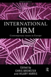 International Human Resource Management - A European Perspective ebook by