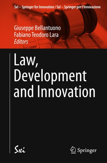 Law, Development and Innovation ebook by