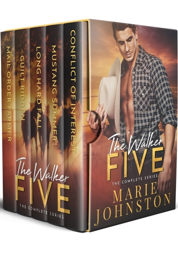 The Walker Five Series - Books 1-5 ebook by Marie Johnston