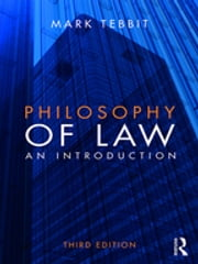 Philosophy of Law - An Introduction ebook by Kobo.Web.Store.Products.Fields.ContributorFieldViewModel