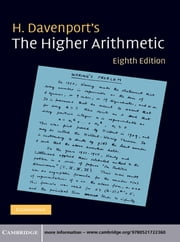 The Higher Arithmetic - An Introduction to the Theory of Numbers ebook by H. Davenport
