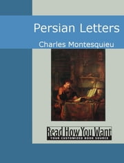Persian Letters ebook by Montesquieu, Charles