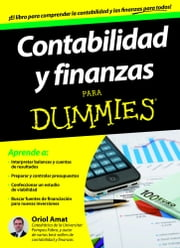 Contabilidad y finanzas Para Dummies ebook by Kobo.Web.Store.Products.Fields.ContributorFieldViewModel