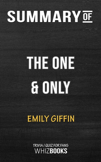 Emily Giffin The One And Only Epub