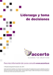 Liderazgo y toma de decisiones ebook by Accerto