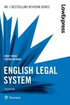 Law Express: English Legal System eBook by Emily Finch, Stefan Fafinski