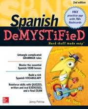 Spanish DeMYSTiFieD, Second Edition ebook by Jenny Petrow