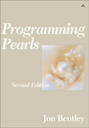 Programming Pearls ebook by Jon Bentley