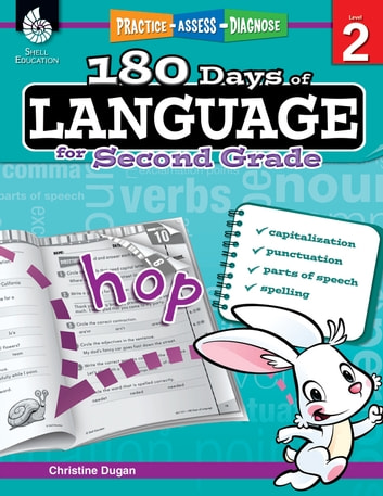 180 Days of Language for Second Grade: Practice, Assess, Diagnose ebook by Dugan,Christine